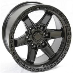 Juego de aros RPC Wheels  modelo B7293  matt black - réplica - 17