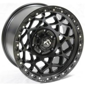 """Juego de aros RPC Wheels  modelo B7299  matte black - réplica - 17""""x9.0"""" - 6x139.7"""