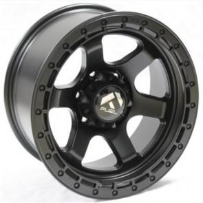 """Juego de aros RPC Wheels  modelo B7303  matte black - réplica - 17""""x9.0"""" - 6x139.7"""