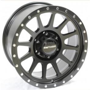 """Juego de aros RPC Wheels  modelo B7891  matt black - réplica - 17""""x9.0"""" - 6x139.7"""