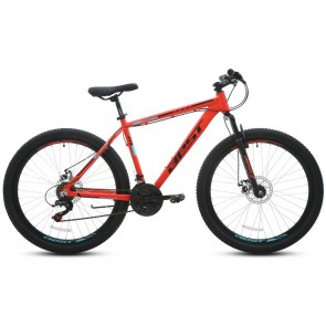 "Bicicleta Montañera BEST modelo CYGNUS aro 27.5"" talla M (Naranja Mate)"