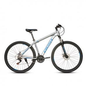 """Bicicleta Montañera BEST modelo INKA aro 29"""" talla M (Gris con Negro)"""
