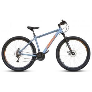 """Bicicleta Montañera BEST modelo OTIS aro 29"""" talla M (Gris con Naranja)"""
