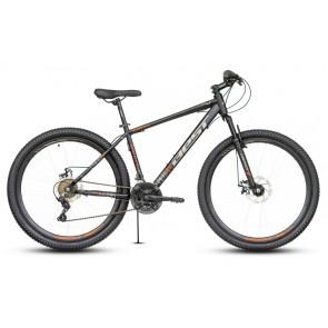 "Bicicleta Montañera BEST modelo STORK aro 29"" talla M (Negro con plomo)"
