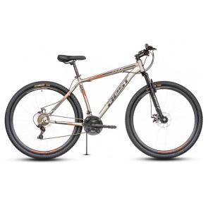 """Bicicleta Montañera BEST modelo STORK aro 29"""" talla M (Gris con negro)"""
