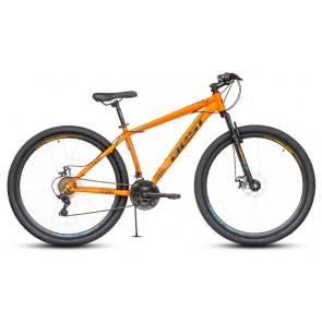 "Bicicleta Montañera BEST modelo STORK aro 29"" talla M (Naranja con negro)"