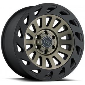 "Juego de aros marca BLACK RHINO  modelo MADNESS  dtm/mbl - 17""x9.0"" - 6x139.7 - (ET: -12)"