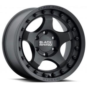 "Juego de aros marca BLACK RHINO  modelo BANTAM  txt-black - 17""x8.5"" - 6x139.7 - (ET:-10)"
