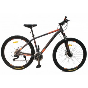 "Bicicleta Montañera KOMBAT BIKE modelo BOKKEN aro 29"" talla M (Gris con Naranja)"
