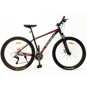 "Bicicleta Montañera KOMBAT BIKE modelo BOKKEN aro 29"" talla M (Negro con Rojo)"