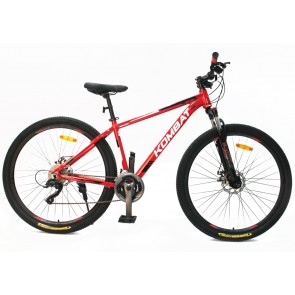 "Bicicleta Montañera KOMBAT BIKE modelo BOKKEN aro 29"" talla M (Rojo)"