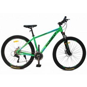 "Bicicleta Montañera KOMBAT BIKE modelo BOKKEN aro 29"" talla M (Verde)"