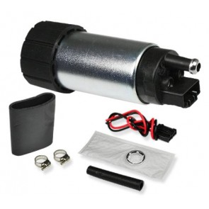 Bomba de Gasolina de alta presión 255lph marca DNA MOTORING c/kit de instal
