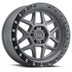 """Juego de aros marca BLACK RHINO  modelo KELSO  bsg/ble-bb - 17""""x9.0"""" - 6x139.7 - (ET:-12)"""