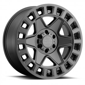 "Juego de aros marca BLACK RHINO  modelo YORK  matte gunmetal - 17""x9.0"" - 6x139.7 - ET:12"
