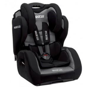 Mini Butaca / Silla de niños marca SPARCO SPC color Plomo con Negro