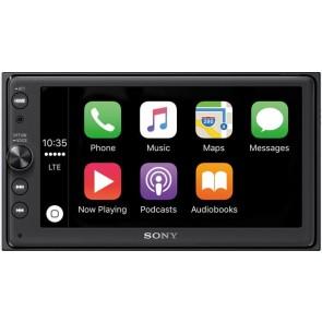 """Autorradio 2DIN con DVD y pantalla de 6.4"""" marca SONY modelo XAV-AX100BT (USB-Bluetooth)"""