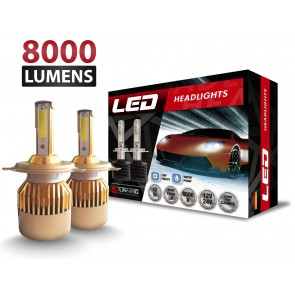 Luces LED C9 marca OZ TUNING codigos H1 - H3 - H7 - H11 - 880 - 9005 - 9006 (8000Lm)