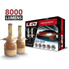 Luces LED C9 marca OZ TUNING codigos H1 - H3 - H7 - H11 - 880 - 9005 - 9006 (8000Lm)