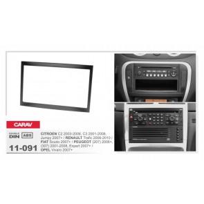 Consola para PEUGEOT 307 marca CARAV modelo 11-091