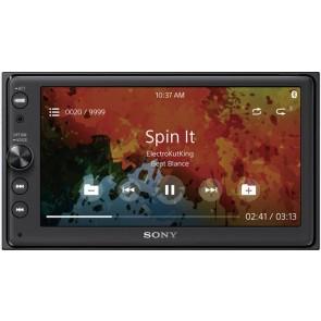 Autorradio 2DIN con DVD y pantalla de 6.4