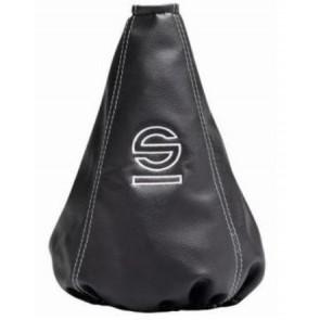 Cofia marca SPARCO color Negro con Celeste modelo BASIC