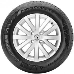 Llanta marca CONTINENTAL  modelo POWER CONTACT 2  (86H) TL  medida 185/65 R14