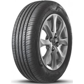 Llanta marca CONTINENTAL  modelo POWER CONTACT TX  medidas 195/65 R15