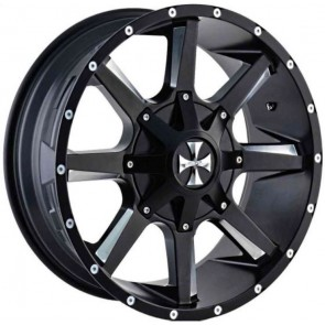"""Juego de aros marca COR Wheels  modelo COR-9100-2937 M - 20""""x9.0"""" - 12H - CAMIONETA"""