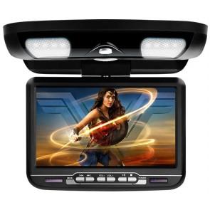 """Pantalla de techo 9"""" con puerto USB, SD, lector DVD + Juegos marca XTROM modelo CR903B (EN STOCK)"""