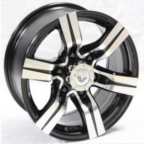 """Juego de aros marca VARELOX WHEELS  modelo D2758  b-p - 16""""x8.0"""" - 6x139.7 - Camioneta"""