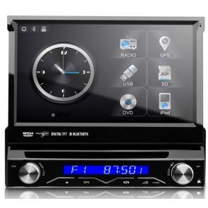 Autoradio con GPS, DVD, TV, Bluetooth marca XTRON Pantalla táctil motorizada de 7