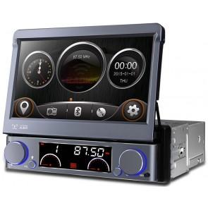 """Autoradio con GPS, DVD, TV, Bluetooth marca XTRON Pantalla táctil motorizada de 7"""" (Importacion 7D) Wince - Plata"""