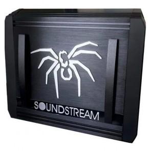 Amplificador de 4 canales marca SOUNDSTREAM modelo X4.1200D