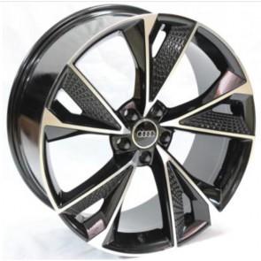 """Juego de aros RPC Wheels  modelo DA031  black m-f  réplica - 20""""x9.0"""" - 5x112"""