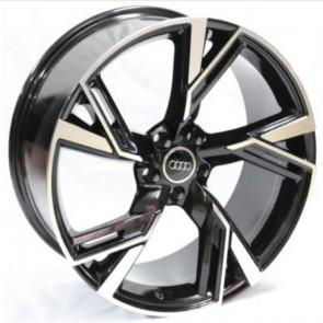 """Juego de aros RPC Wheels  modelo DA032  black m-f  réplica - 20""""x9.0"""" - 5x112"""