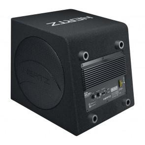 """Subwoofer  8"""" con  Amplificador incorporado en caja (original) marca HERTZ modelo DBA 200.3 (140 RMS)"""