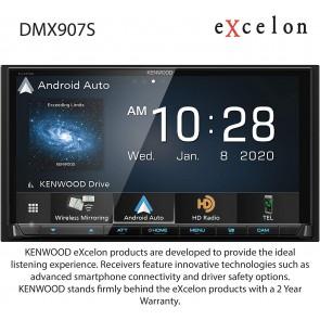 Equipo Multimedia Kenwood DMX-907S de 6.95