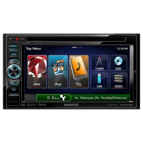 "Equipo Multimedia Kenwood DNX-5710BT de 6.1""- 2 DIN AAC/WMA/WAV/DVD/Bluetooth/USB"