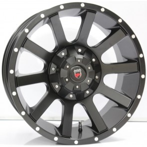"Juego de aros marca VARELOX WHEELS  modelo F10316  blk/m5 - 17""x9.0"" - 10H (5x114.3) - Camioneta"