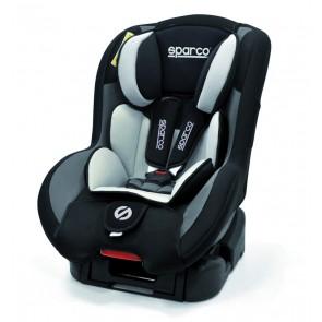 Mini Butaca / Silla para bebes marca SPARCO color Gris con Negro