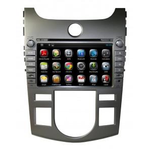 "Autoradio homologado KIA CERATO 2008-2012 Procesador de 8 nucleos con sistema operativo Android 6.0.1 - Pantalla 8"" + Camara Retro, DVD-TV-GPS-BT-USB-SD-WIFI (Importación 10D)"