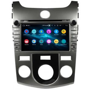 Autoradio Homologado KIA CERATO 2008-2012 Procesador 8 Nucleos (64+4) Android 9 - Pantalla 8