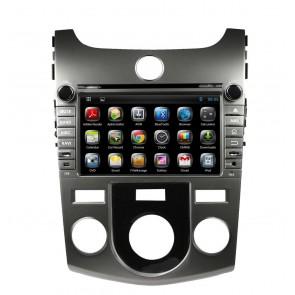 "Autoradio homologado KIA CERATO 2008-2012 Android Procesador de 8 nucleos con sistema operativo Android 6.0.1 - Pantalla 8"" + Camara Retro, DVD-TV-GPS-BT-USB-SD-WIFI (Importación 10D)"