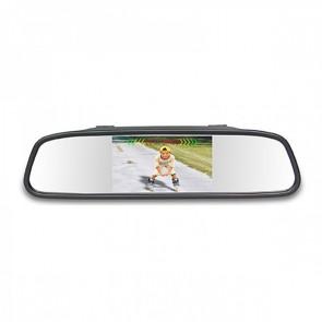 Kit senores de retroceso + camara + pantalla para espejo marca GENIUS modelo G-VPS01-RC43