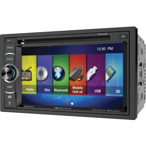 "Equipo DVD  marca SOUNDSTREAM  modelo VR-64H2B Doble DIN  (Pantalla de 6,4"", Bluetooth, USB, SD, Mp3, Mp4)"