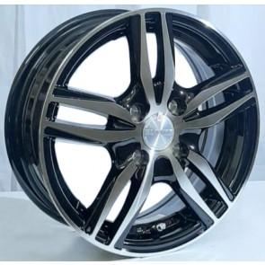 """Juego de aros GTR Wheels  modelo L1672-04  mb - réplica - 16""""x6.5"""" - 5x114.3"""