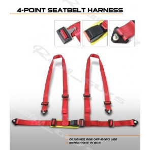 Harness de 4 Puntos marca OPTION-MOTORS