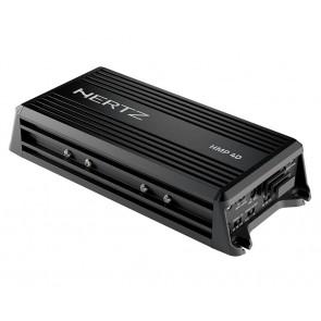 Amplificador 04 canales clase D marca HERTZ modelo HMP4D