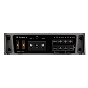Amplificador de 4 canales marca HERTZ modelo ML POWER4
